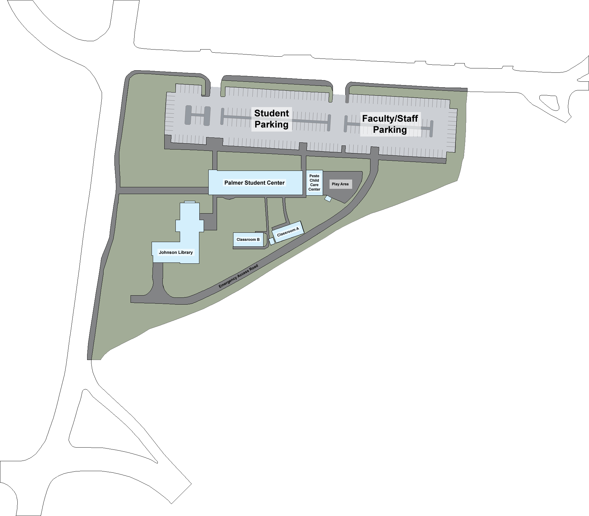 Olympic College Campus Map